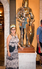 An impressive looking armor. (kuntheaprum) Tags: medievaltimes dinnershow horse sword lance joust nikon d750 sigmaart 50mm f14