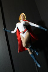 Phicen Power Girl kitbash (kengofett) Tags: powergirl phicen 16 female figure kitbash dc comics