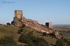 Castillo de Zafra. (Pilar Lozano ♥) Tags: castillo zafra cielo roca monte pilar lozano♥