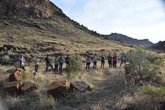 Participants surveying Nine Mile Canyon (BLMUtah) Tags: blm blmutah bureauoflandmanagement utah ut archaeology history canyon rocks ancient stem learning painting art artifacts handson ninemilecanyon
