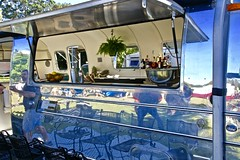 Airstream (*SIN CITY*) Tags: air stream airstream goldcoast australia van caravan silver alloy oz carshow transport queensland qld trailer beautiful oldschool old travel cool kool camper camping reflection shiny shiney vintage retro mustang ford streamline line custom