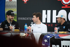 Mayor on Air live (elizabeth_XTC) Tags: abc supply 500 pocono raceway poconos pennsylvania motorsports indycar indy car racing race tricky triangle mayor air podcast james hinchcliffe schmidtpetersonmotorsport marco andretti will power penske tea team autosport