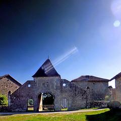 La Salesse, Haute-Vienne, France (pom.angers) Tags: panasonicdmctz30 flare stage 5000