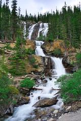 Tangle falls (Adam Wang) Tags: canada travel fall waterfall stream alberta rapids jasper cascades parkway nationalpark icefieldsparkway