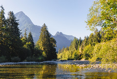 The Way It's Been (John Westrock) Tags: nature landscape mountains trees river clearsky washington northbend canoneos5dmarkiii sigma35mmf14dghsmart pacificnorthwest