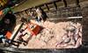 ship hold on the rocks (-i-) Tags: boat burma cargo crane fish fishmarket fisherman fishingboat horizontal ice men myanmar rangoon ship sort southeastasia throw unload woman women yangon