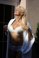 Vlaďka (kaddafi210) Tags: czech portrait nature summer nice pretty photoshooting blonde m42 retro style emotion woman pose beauty beautiful