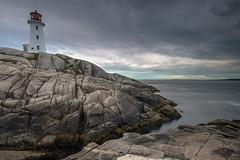 Peggy's Cove, Nova Scotia (angie_1964) Tags: peggyscove novascotia nikond800 lighthouse sea rock clouds nature canada atlantic stmargaretsbay