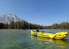 Kayaking on String Lake, Labor Day weekend. (scepdoll) Tags: kayaking grandtetonnationalpark leighlake jacksonlake wyoming findyourpark laborday
