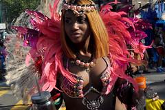 parade (greenelent) Tags: parade caribbeandayparade westindiandayparade people streets woman pink brooklyn nyc 365 photoaday