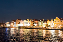 Willemstad Curacao by night