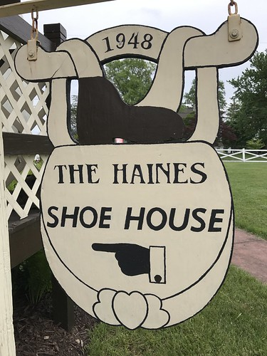 Haines Shoe House - along the Lincoln Highway near York, PA