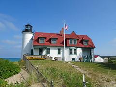 Point Betsie 9-3-17 (ionnature) Tags: frankfort michigan northernmichigan lighthouse lakemichigan pointbetsie pointbetsielight