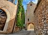 La Tour de l'horloge. Roussillon. (Cri.84) Tags: provence village rue monument vaucluse luberon hdr 3xp photomatix panorama autopano