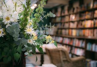 In the bookshop