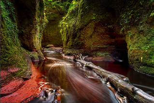 Devils Pulpit, Finnich Glen, Scotland.