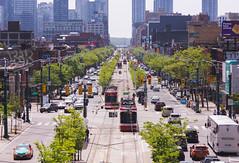 Spadina Avenue (dtstuff9) Tags: toronto ontario canada spadina avenue ave crescent chinatown ttc streetcar skyline one downtown