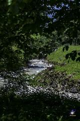Beginning of the Gorge Partnachklamm (carolienvanhilten) Tags: garmischpartenkirchen bavaria beieren gorge partnachklamm deutschland duitsland germany waterfall waterval rainbow mountains water
