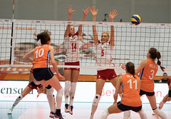 49152431 (roel.ubels) Tags: nederland oranje holland polen poland polska amsterdam sporthallen zuid volleybal volleyball oefenwedstrijd sport topsport 2017