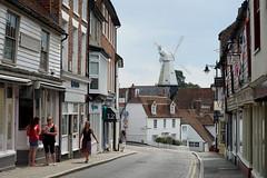 Summer in Cranbrook (Jayembee69) Tags: town kent cranbrook england english britain british uk windmill summer street road clapperboard historic unitedkingdom shops highstreet clapboard
