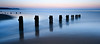 Sandsend Beach, Yorkshire (Paul Cronin 1) Tags: england groynes lee10stopper canon longexposure ngc sea northyorkshire beach sandsend coastal whitby northsea bluehour canon5ds 16x7 leepolariser coast
