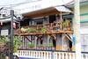 IMG_2710a - La Noche Bar & Restaurant - Iquitos, Loreto, Peru (Wayne W G) Tags: southamerica peru loreto iquitos amazon amazonbasin restaurants restaurant bar bars balcony balconies wood wooden