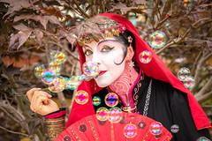 Bristol Renaissance Faire 2017 (spierson82) Tags: actor renaissancefair bubble bristolrenaissancefair woman wisconsin renaissancefaire bristolrenaissancefaire geisha costume renaissance performer kenosha unitedstates us renfair medieval