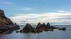 Rocky Shores........ (klythawk) Tags: rocks clouds daytimelongexposure formatthitech 16stop summer blue green brown grey purple nikon d610 24120mm burghisland bigburyonsea southdevon klythawk