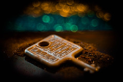 ...found a Key (ursulamller900) Tags: macromondays rust rost schlüssel key bokeh domiplan2850 extensiontube 12mm makroring macro