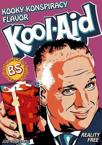 Kooky conspiracy theory Kool-Aid
