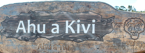 Ahu a Akivi, Rapa Nui
