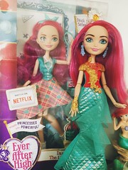 I'm sorry! The old Meshell cant come to the phone right now! Why? Oh... Cause She's Dead! (Christo3furr) Tags: mattel fashion doll monster ever after high meshell mermaid princess little disney