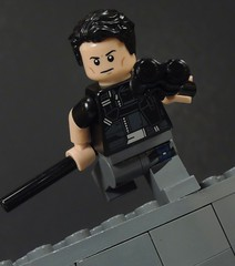 Agent 37 of Spyral (MrKjito) Tags: lego super hero comics comic dc new 52 dick grayson agent 37 nightwing robin spy batman gotham agency custom