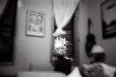 outside. (.MRVXLV.) Tags: fireworks black white analog olympus mju ii expired monochrome 4th july 35mm new york buschwick