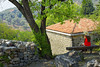 Under The Tree (Alfred Grupstra) Tags: outdoors nature architecture cultures mountain summer red travel stonematerial rockobject tourism landscape old europe roof scenics history house famousplace stoneobject bar staribar
