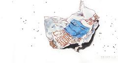 Bords de route (bibi 31) Tags: aquarelle croquis carnet