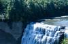 Middle Falls (juliafrenchfrey) Tags: letchworthstatepark letchworth newyork newyorkstatepark statepark fingerlakes fingerlakesregion westernnewyork water waterfall waterfalls gorge geneseeriver genesee river