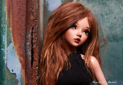 Arabella <3 (pure_embers) Tags: pure embers laura england tan resin bjd msd doll dolls fairyland minifee chloe uk girl minifeechloe pureembers embersarabella arabella photography photo ball joint brown alpaca hair sun goddess rust paint youpla