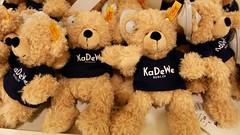 Beren / KaDeWe / Berlijn (rob4xs) Tags: berlijn berlin kadewe departmentstore warenhuis kaufhausdeswestens beren bären bears steiff knopfimohr handmade duitsland deutschland germany vakantie urlaub ferien vacation holiday teddybeer teddybear
