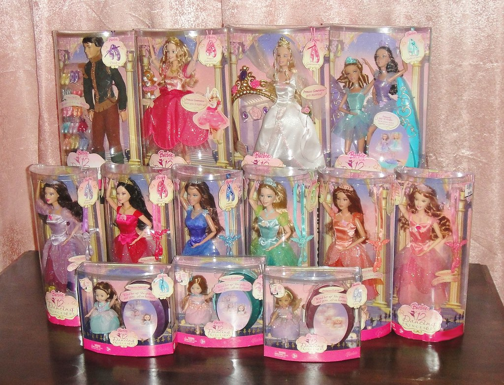 The world 39 s most recently posted photos of barbie and lara - Barbie 12 princesse ...
