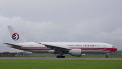Boeing B777-F6N c/n 37716 China Cargo Airlines registration B-2082 (sirgunho) Tags: amsterdam airport schiphol aircraft holland the netherlands polderbaan b2082 china cargo airlines boeing 777f b777f6n cn 37716 registration
