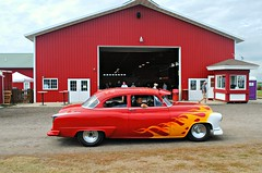 (Cragin Spring) Tags: unitedstates usa unitedstatesofamerica midwest car flames barn springgrove springgroveil springgroveillinois illinois il