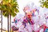 Princess Balloons (EatThisLight) Tags: disney disneyland california anaheim color lovely balloons princess disneyprincess pink californiaadventure mickey mickeymouse