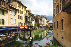 Annecy (My Wave Pics) Tags: annecy france water travel europe nature lake landscape alps summer reflection mountain sky french city tourism river blue architecture outdoors hautesavoie view town canal old street house castle bridge beautiful boat exterior background tree green people forest stone cafe tourist urban spring medieval scenic savoie scene vacation holiday flowers building