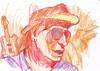 IDOLOS (GARGABLE) Tags: idolos angelbeltrán apuntes gargable portrait retrato sketch drawings dibujos