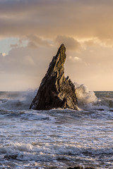Westcombe - Devon (Christopher Pope Photography) Tags: devon jurassic 2017 christopherpopephotography sunset chrispope welcombebeach dusk longexposure le seascape neilburnell wwwchristopherpopephotographycom seaswirl rocks