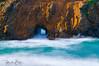 Through the Rock! (hazeleyes0710) Tags: pacificcoasthighwaybeach pfeifferbeach throughtherock usa purplesandbeach travel northerncalifornia waves