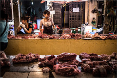 Butchery Vietnamese (Steff Photographie) Tags: market hanoî meat tradition vietnam