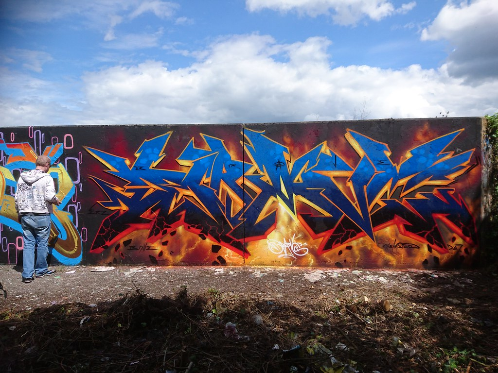 Graffiti wall chelmsford - Chelmsford Graffiti Hall Of Fame 2017 Brave One Tags Drawings Brave1 Brave Braveone