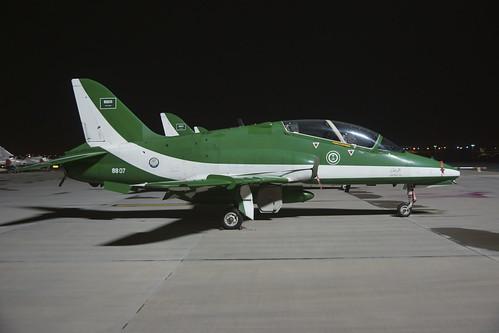 8807 Hawk SaudiArabiaAF Saudi Hawks 12431